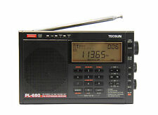 TECSUN PL680 PLL FM/Stereo MW LW SW SSB AIR Band        BLACK COLOR