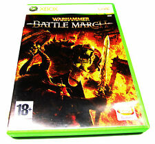 WARHAMMER BATTLE MARCH XBOX 360 GAME SUIT XBOX 360 CONSOLE COLLECTOR +FREE POST!