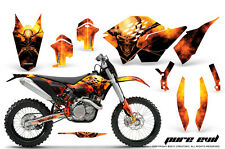 KTM GRAPHICS KIT SX SXF 07-10, EXC XCF 08-10-11, XCW 08-10-11 DECALS PEB