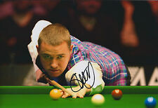 Stephen HENDRY SIGNED Autograph 12x8 Photo AFTAL COA Dubai Classic WINNER