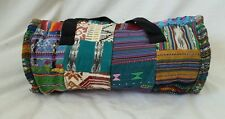 Handmade Eco-Friendly Patchwork Hippie Overnight Tote Travel Cotton Duffle BaG