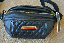 JUICY COUTURE Crossbody Shoulder DEVEO Leather Quilted Bag Purse NWT$248 Black