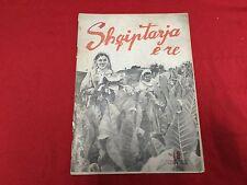 ALBANIA MAGAZINE SHQIPTARJA E RE 1956 COMMUNIST ERA NEW ALBANIA SOCIALISM #007