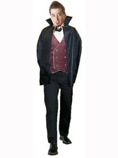 "Adulto 34 ""BLACK CAPE Outfit Costume Halloween Dracula vampiro mantello"