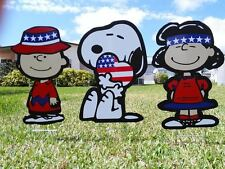 Charlie Brown Peanuts COMBO Christmas July 4th Holiday Decor