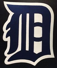 """HUGE DETROIT TIGERS IRON-ON PATCH - 6.5"""" x 7.5"""""""