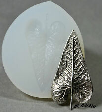 LEAF SILICONE MOLD FOOD USE POLYMER CLAY RESIN FIMO MOULD WAX PLASTER