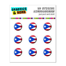 Puerto Rico Rican Flag Boricua Home Button Stickers Fit iPhone 3GS 4 4S 5 5C 5S