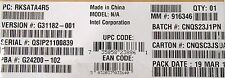 Intel RAID C600 Upgrade Key RKSATA4R5 New Bulk Packaging