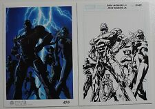 2014 Marvel Universe Artist Draft #AD19 Dark Avengers Rittenhouse Rewards Card