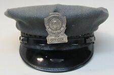 vintage WASHINGTON STATE REFORMATORY MONROE hat & badge OBSOLETE police *