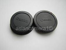 Body & Rear Lens Cap Set For Canon EOS Film Digital Rebel XTi Xsi Dust Safety