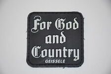 GEISSELE AUTOMATICS FOR GOD AND COUNTRY PATCH PROMO SUPER SCAR SUPER ACR HK 416!