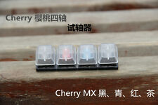 CC Keyboard Clear Keycaps 4 x Cherry MX Switches Sampler Tester Kit