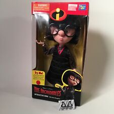 Incredibles Interactive Talking Edna Mode Doll Figure Rare Pixar Disney Thinking