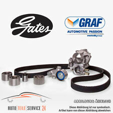 Gates Timing belt kit u count Water pump Opel Astra G H Zafira Meriva Saab NEW