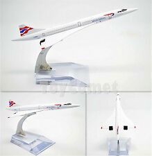 British Airways Concorde Airplane 16cm DieCast Plane Model