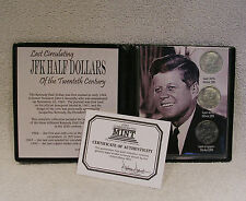 Kennedy Half Dollars of the 20th Century - Commemorative Coin Collection