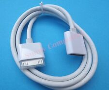 30Pin Dock Extension Cable for iPhone4 4S iPad 2 3 iPod Support HDMI Adapter