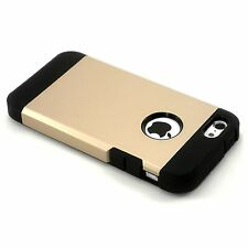 New Gold Dual Layer Hard Case Cover + Screen Guard For iPhone 5C