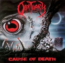 OBITUARY - Cause of Death Print 12x12 RARE