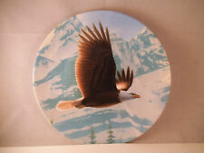 Vintage 1988 Edwin Knowles Birds of Prey Plate Bald Eagle Daniel Smith