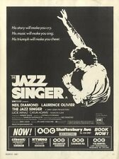 1981 Movie 11x8 (Neil Diamond & Laurence Olivier) In The Jazz Singer