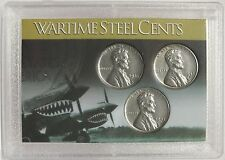 1943 Wartime Steel Cents - PDS Mint - Lincoln Pennies Coin Set