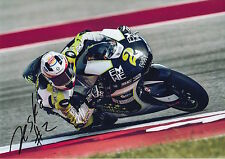 JESKO RAFFIN HAND SIGNED KALEX MOTO2 12X8 PHOTO 2016 1.
