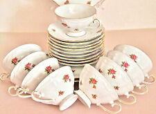 Vintage Tea Set/ Oscar Schaller & Co Winterling Bavaria West Germany Porcelain/