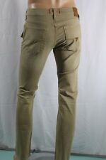 GUESS MEN JEANS  SLIM STRAIGHT FIT SZ 32 KAKHY STRETCH NSEAM 32 100 % AUTHENTIC