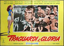 CINEMA-fotobusta TRAGUARDI DI GLORIA - BOCCIA; BOX