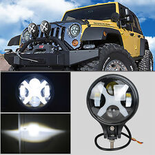 "6"" 60W Round LED Light Driving Work Fog Off-Road Lamp For Jeep Cherokee Motor"