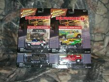 Playing Mantis Johnny Lightning Real Wheel Series Hummer Set of 4 NIP
