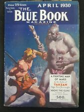 "Blue Book - Ultra High Grade Set of Burroughs - ""Fighting Men of Mars"""