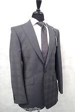 Men's Alex Grey Checked Suit 36L W30 L33 LB140