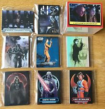 Star Wars Rogue One Mission Briefing Master Set 202 Cards Base Patch Set 8 Chase