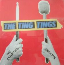 The Ting Tings - We Started Nothing   (CD) . FREE UK P+P ......................