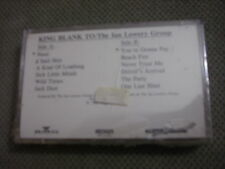 SEALED RARE PROMO Ian Lowery Group CASSETTE TAPE King Blank To THE WALL Bush '89
