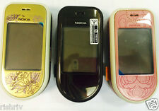 Nokia 7370 (Unlocked) Mobile Phone in Gold - Brown  and Pink colours- Uk Seller