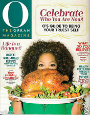 O The Oprah Magazine Celebrate Who You Are (Vol. 16, Number 11, November 2015)