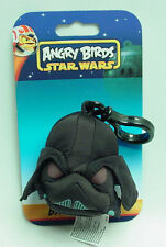 Star Wars Angry Birds Darth Vader Plush Toy Caricature BackPack Clip-On Key Ring