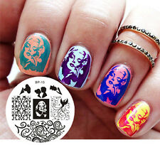 BORN PRETTY Nail Art Stamping Plate Marilyn Monroe Pattern Image Template  #15