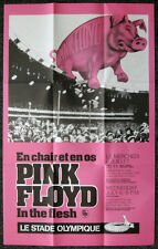 PINK FLOYD REPRO 1977 MONTREAL IN THE FLESH TOUR CONCERT PROMO POSTER NOT CD DVD