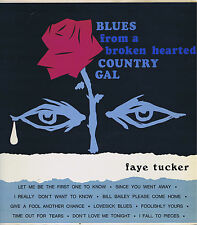 FAYE TUCKER Blues from a broken hearted Vountry Gal Vinyl LP 33 Album EX Stereo