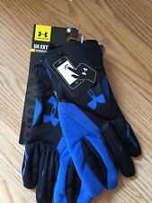 Under Armour Extreme Cold Gear Infrared Running Gloves BLACK/BLUE UNISEX  S/M