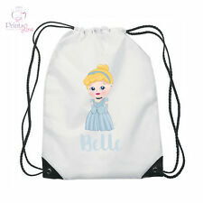 Personalised Princess swim bag gym bag pump bag school cinderella