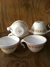 Corelle Dishes Butterfly Gold Open Handle Cups Set Of 6