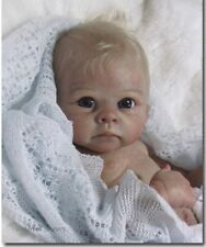❤ belle reborn doll baby ❤ custom made from the harry kit by linda murray ❤