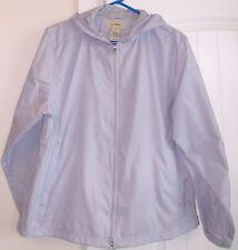L L BEAN Light purple LAVENDER water resistent HOODED WINDBREAKER Jacket XL